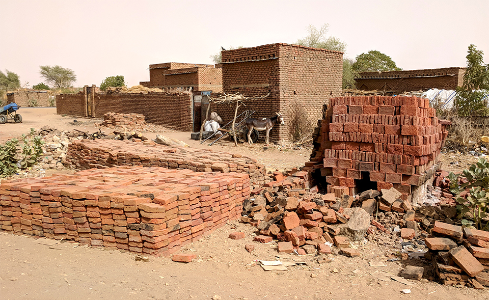 Sudan bricks