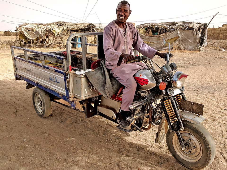 Sudan motorcycle