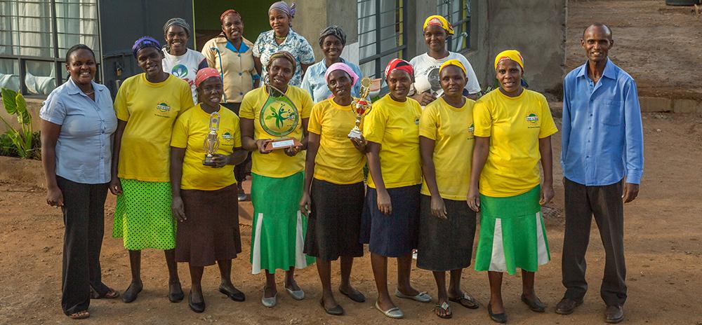 Staff and owners of Sweet n Dried in Kenya