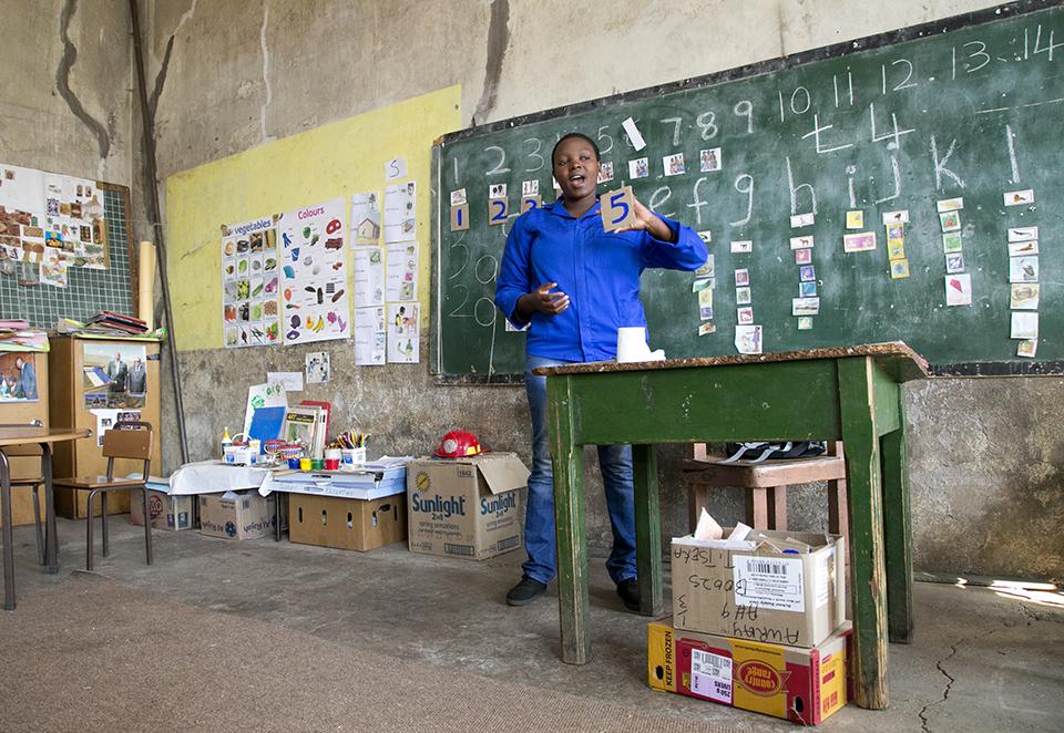 Lesotho teacher