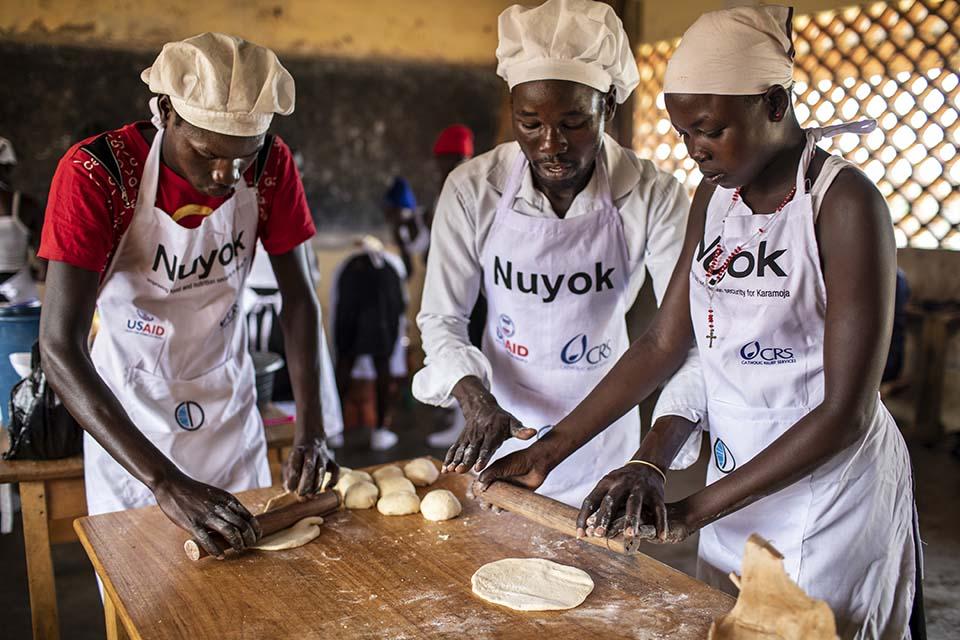 Uganda baking class