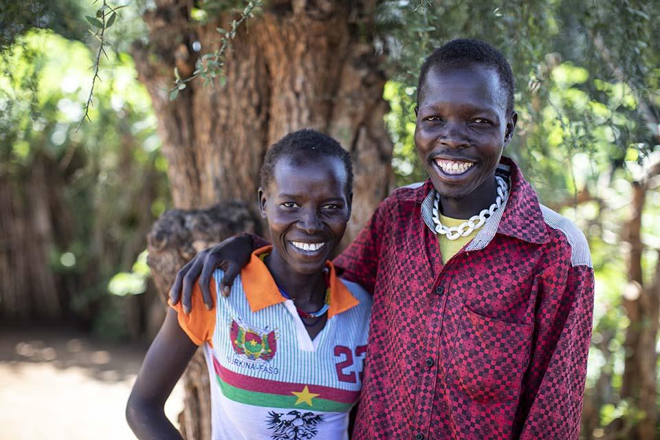 husband and wife in Uganda