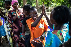 girl in Uganda