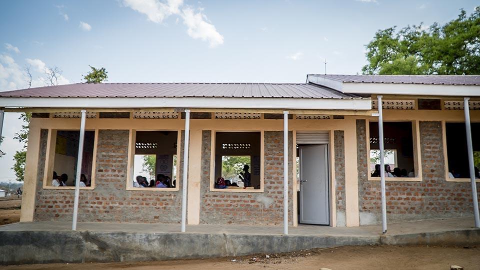 Uganda school house