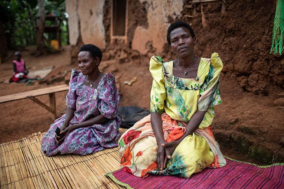 Uganda widows learn improved coffee production
