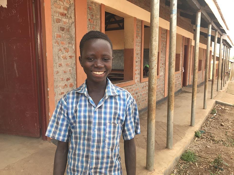 Uganda student