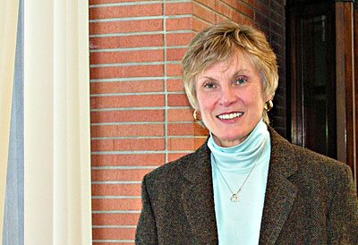 Sue Toton, a professor at Villanova University, helped create a partnership between her university and Catholic Relief Services. Photo courtesy of Jerry Zurek