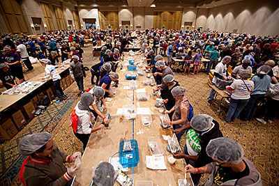 Helping Hands event in Orlando, Florida. Photo by Jim Stipe.
