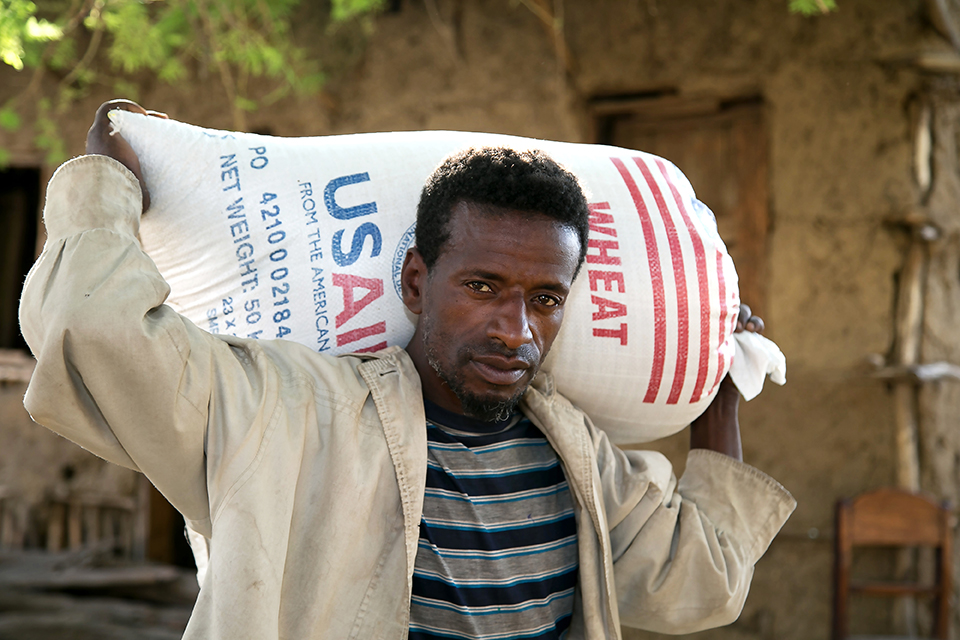 usaid crs food distribution in Ethiopia
