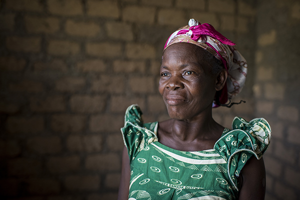 woman in central african republic