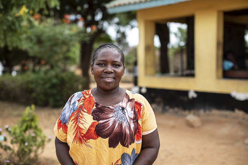 woman who is parent and caregiver mentor in Kenya