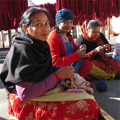 Your support will help women artisans in Nepal, still recovering from devastating earthquakes, rebuild their livelihoods. Photo courtesy of Ten Thousand Villages. Photo courtesy of Ten Thousand Villages