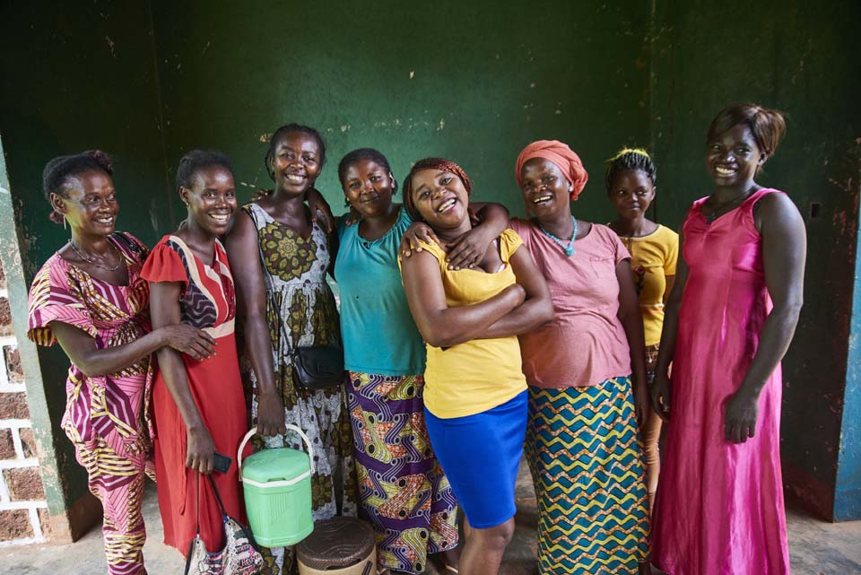 women's business association in Central African Republic