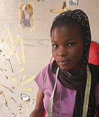 young Senegalese woman