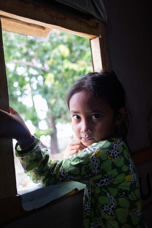 young tsunami survivor