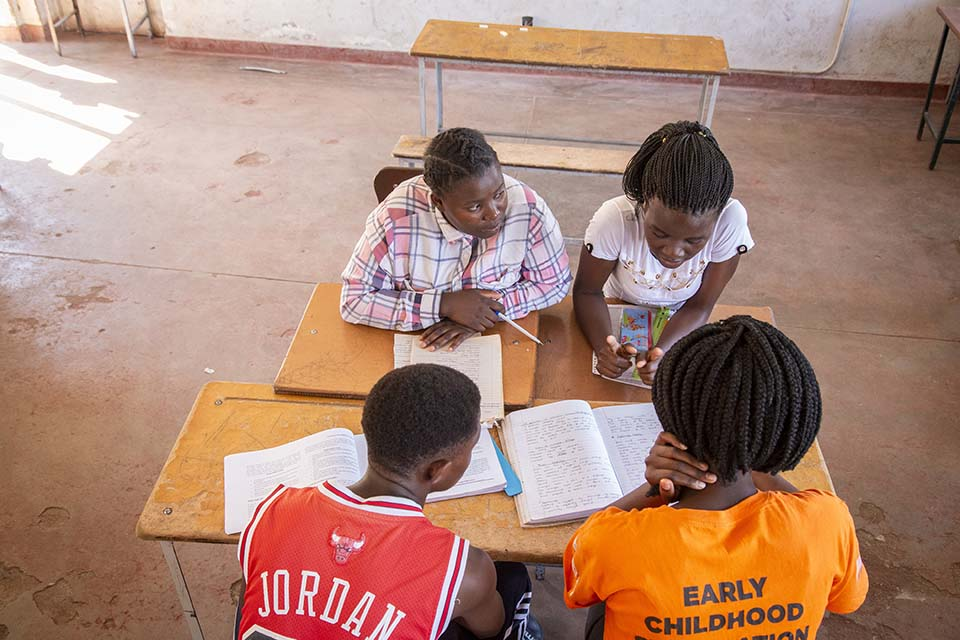 Zimbabwe students