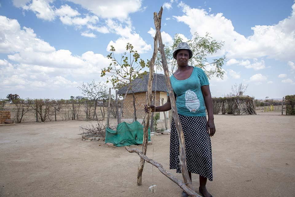 Zimbabwe farmer