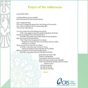 Prayer of the Wilderness