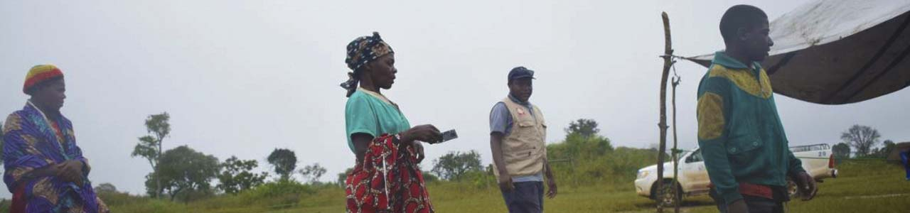 distancing in DRC