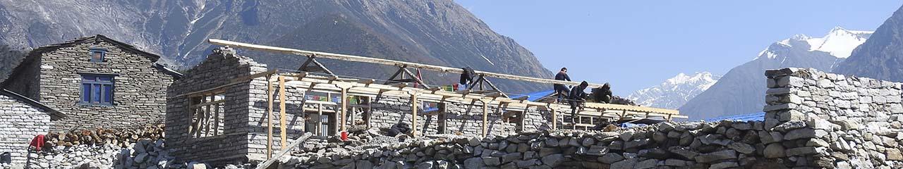 Nepal construction site