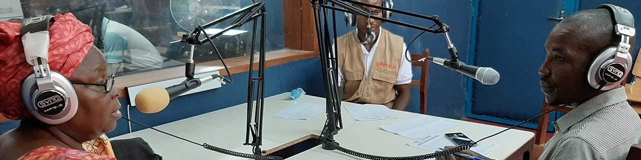 radio program Central African Republic