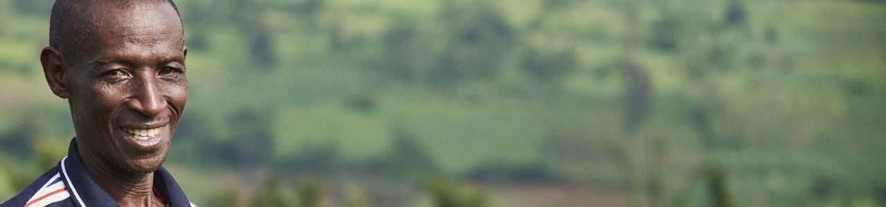 Rwanda farmer
