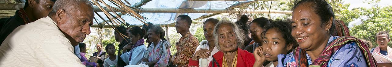 Timor Leste market scene