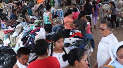 Guatemala volcano survivors fill church
