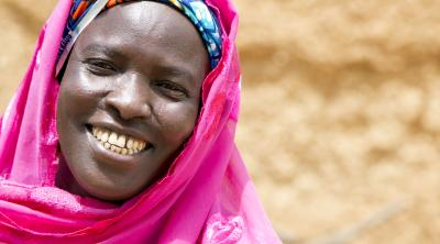 A CRS Savings and Internal Lending Community, or SILC, helped Dayaba Ibrahim grow her business and pay her children's school fees.