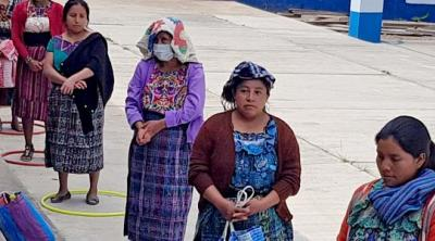 distancing in Guatemala