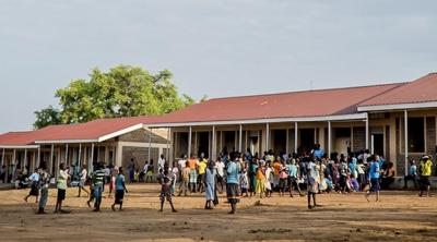school for refugees in Uganda