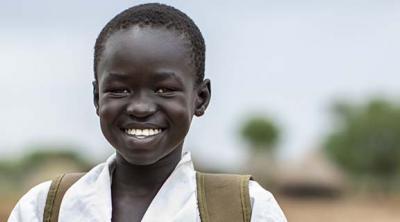 boy in South Sudan