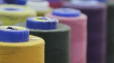 spools of thread in Egypt