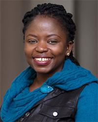 Dooshima Tsee, Catholic Relief Services' Regional Information Officer for Southern Africa