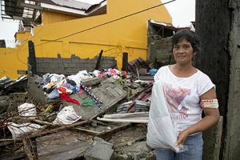 Millions of homes, like Dolores Nuevas,' were destroyed by the November 2013 super typhoon. The storm killed thousands of people and flattened entire towns.