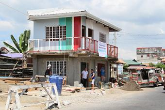 CRS is helping communities repair and rebuild their community centers so they can feel whole again.