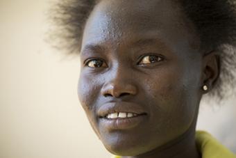 <b>Rose Nathike Lokonyen<br />Sport:</b> Women's Track and Field (800 m)<br /><b>Native Country:</b> South Sudan<br /><b>Host Country:</b> Kenya<br />Photo by IOC