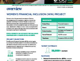 Women's Financial Inclusiom