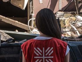 Beirut explosion damage