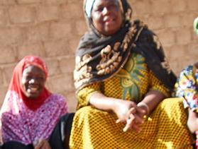 crs savings group in Burkina Faso