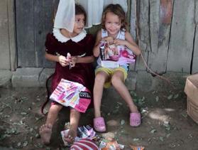 two children in Honduras
