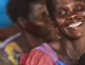 Congolese women in class