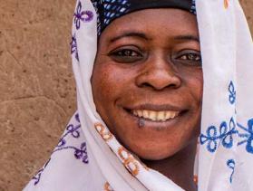 woman in Ghana