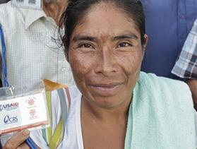 Fighting hunger in Guatemala, CRS vouchers help familes help themselves.