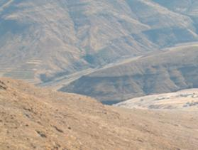 mountainside in Lesotho