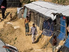 refugee camp in Bangladesh