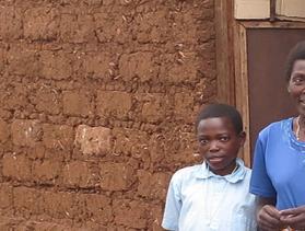 Rwanda family at home