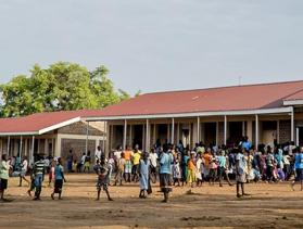 school for refugees in Uganda