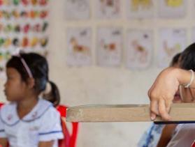 student in Cambodia
