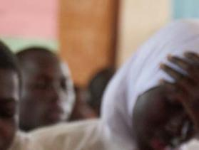 student in The Gambia
